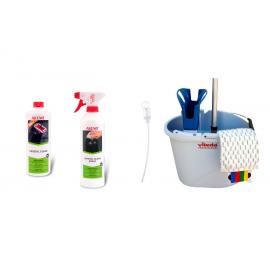 KIT LIMPIEZA VILEDA + SET CRYSTAL CLEAN